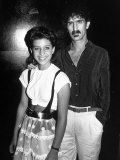 Moon Unit Zappa and Father  Musician Frank Zappa