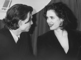 Boyfriend and Girlfriend  Actors Johnny Depp and Winona Ryder