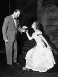 Karl Malden and Jessica Tandy in the Broadway Production Play &quot;Streetcar Named Desire&quot;