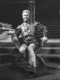 "Actor John Gielgud Portraying Title Role in ""Othello"" at Stratford-Upon-Avon  England"