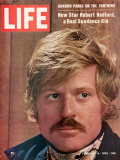 Life 2-6-1970 Cover of Actor Robert Redford  Cr: John Dominis