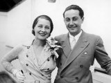 Film Director Irving Thalberg and Wife  Actress Norma Shearer