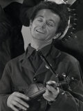 Woody Guthrie Cropped from Group Shot