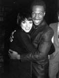 "Actress Singer Liza Minnelli and Actor Comedian Eddie Murphy at Party for Film ""Scarface"""