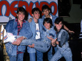Singer Ricky Martin and Other Members of Musical Group Menudo