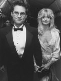 Actor Kurt Russell with Goldie Hawn Attending American Film Institute's 25th Anniversary Gala