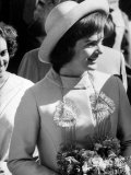Mrs John F Kennedy Visiting India