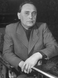 Hungary's Nazi Ldr  Major Ferenc Szalasi Who Wants to Return the Lost Provences to His Country
