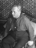 Portrait of Hungarian Facist Priest Malnashi