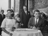 Robert F Kennedy and Wife Ethel in Bangkok
