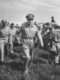 Gen Douglas MacArthur Arriving with American Occupation Forces