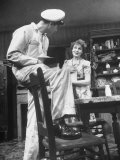 "Actors John Randolph and Shirley Booth in Scene from Broadway Play ""Come Back  Little Sheba"""
