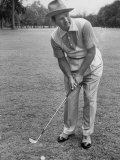 Jimmy Demaret Wearing a Golf Tuxedo with a Bib Front