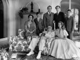 Family Portrait of the Aga Khan Household