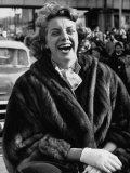 Singer Rosemary Clooney Laughing