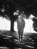 Composer Richard Strauss Out Walking