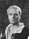 "Actor Laurence Olivier in the Title Role of the Movie ""Hamlet"""