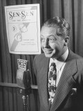 Larry Taylor Singing on Cbs Radio During a Commercial to Advertise Sen-Sen