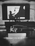 "Pianist Artur Rubinstein Playing Piano for ""Concerto"""