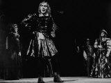 """Actor Christopher Plummer Starring in Scene from Shakespeare's """"Richard Iii"""""""