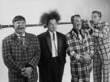 Comedian-Musician Spike Jones and His Band Posing for a Picture