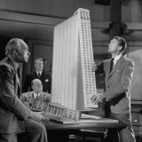 "Scene from the Movie ""The Fountainhead"""