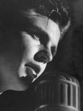 Rock &#39;N Roll Singer Ricky Nelson During Performance