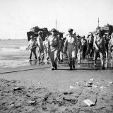 General MacArthur Coming Ashore  Luzon  Phillipines