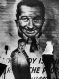 Actor Broderick Crawford Performing in a Scene from the Movie &quot;All the King&#39;s Men&quot;
