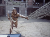 "Actor Woody Strode as Draba in Scene from the Stanley Kubrick Film ""Spartacus"""