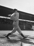 Yankee's Joe Dimaggio at Bat
