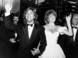 Married Actors Don Johnson and Melanie Griffith at Academy Awards