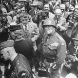 Gen George Patton's Homecoming at End of WWII