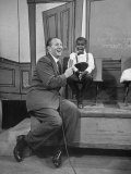 "TV Show Host Art Linkletter Doing His TV Show ""House Party"" at Cbs TV City"