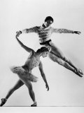 "Alicia Alonso and Igor Youskevitch in the American Ballet Theater Production of ""Nutcracker"""