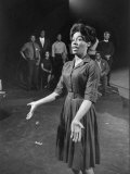 Actress Diana Sands in &quot;Blues for Mr Charlie&quot; at Anta Theater