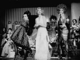 """Scene in """"Applause """" Staring Lauren Bacall"""