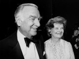 Television News Anchor Walter Cronkite and Wife Betsy