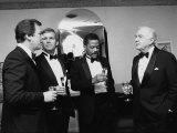 Television News Broadcasters Peter Jennings  Tom Brokaw  Bernard Shaw and Walter Cronkite