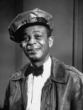 "Alvin Childress Playing as the Taxi Driver in the TV Series ""Amos 'N' Andy"""