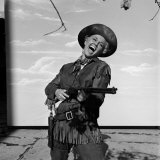 Actress Doris Day in Costume on the Set of &quot;Calamity Jane&quot;