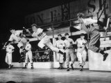 Actor Stephen Douglas Performing in the Musical  &quot;Damn Yankees&quot;