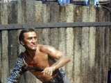 "Actor Kirk Douglas in a Scene from the Film ""Spartacus"""