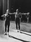 Ballerina Maria Tallchief and Andre Eglevsky Rehearsing &quot;Swan Lake&quot;