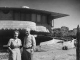 Frank Lloyd Wright's House for His Son David Wright  Made of Concrete Blocks