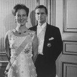 Princess Margrethe II and Her Husband Prince Henrik