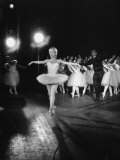 "Ballerina Maria Tallchief Appearing in ""Swan Lake"" with Andre Eglevsky"
