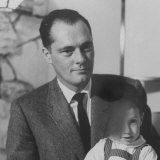 Conrad Hilton II and Son at their Home in Beverly Hills