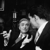 "Scene from ""The Confidential Clerk""  Starring Claude Rains"