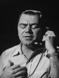 "Ernest Borgnine  Talking on Phone  in Scenes from the Movie ""Marty"""